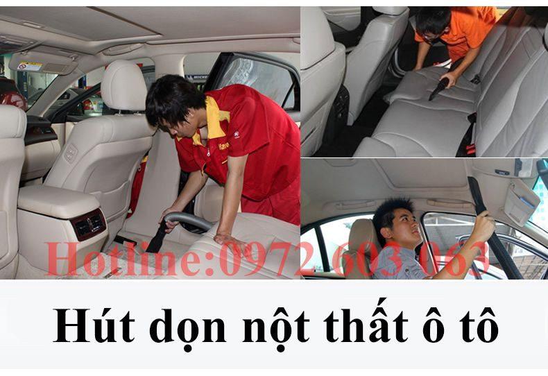May Hut Bui Hut Nuoc Dung Cho Viec Don Noi That O To